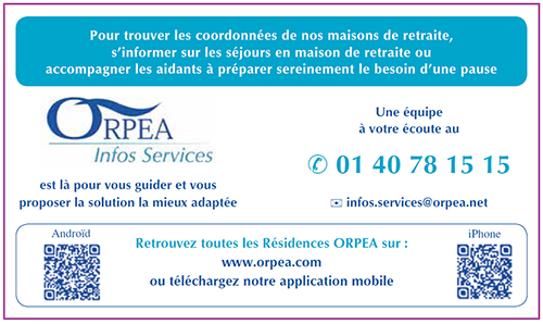 Contacter ORPEA