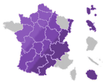 Carte France - via trajectoire