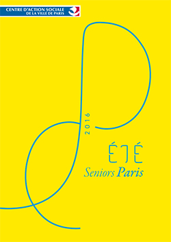 Ete 2016 : seniors à Paris